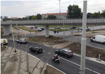 Budowa lewoskrętu na Placu Społecznym oraz rozbiórka estakady zachodniej