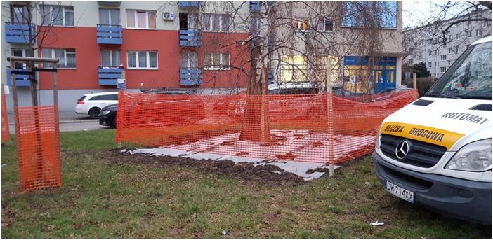 zieleniec przy ul. I. L. Pereca4