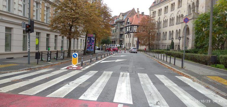 Stała Organizacja Ruchu na ulicy Kościuszki w Poznaniu2