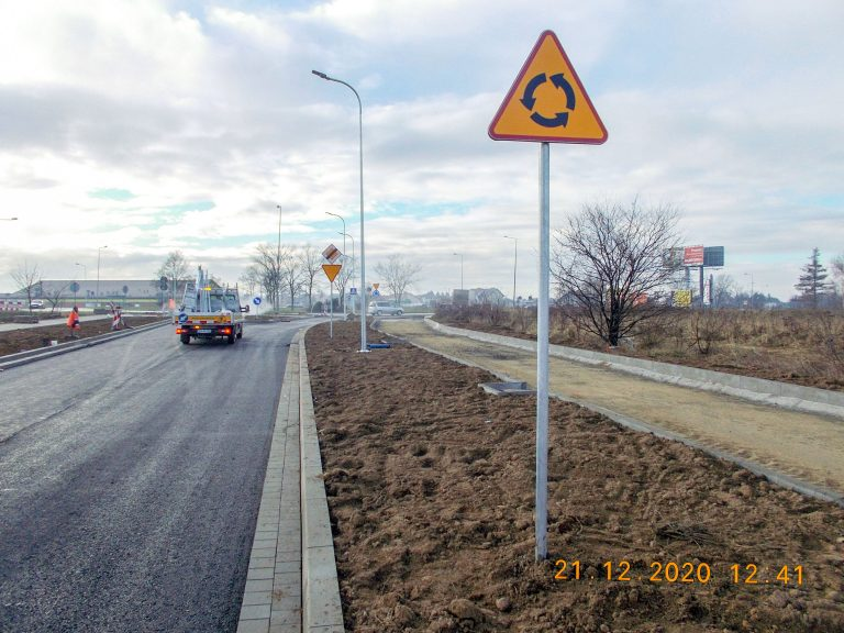 Budowa układu komunikacyjnego w Legnicy