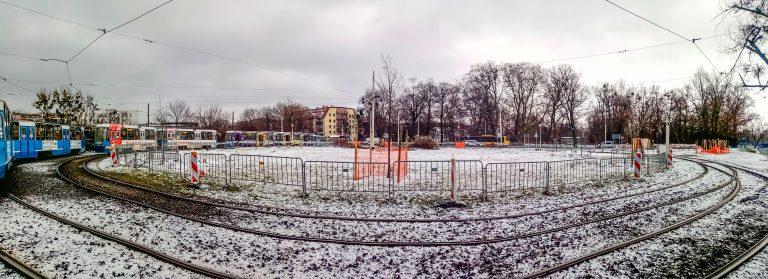 """Budowa parkingu """"Parkuj i Jedź"""" na pętli tramwajowej Klecina"""