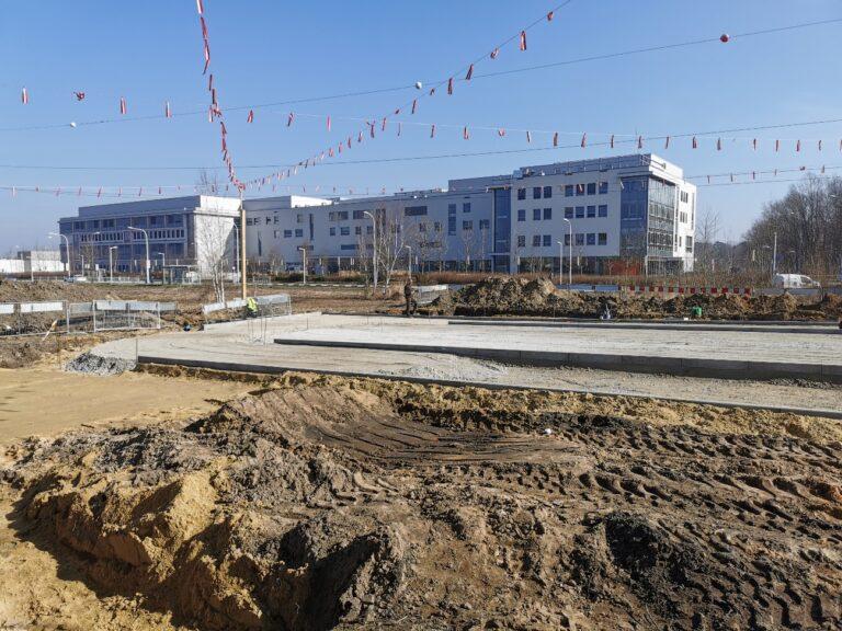 """Budowa systemu """"Parkuj i Jedź"""" w rejonie przystanków komunikacji miejskiej ul. Kosmonautów – gen. Fieldorfa"""