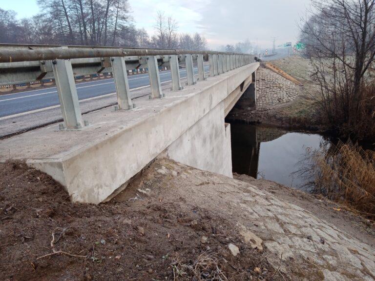 Bieżące utrzymanie obiektów mostowych w rejonie Konina
